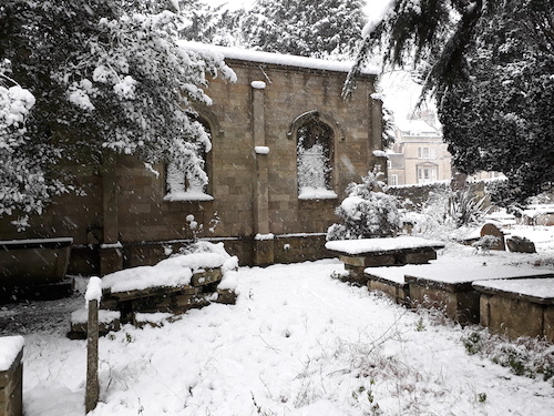 Chaple in Snow